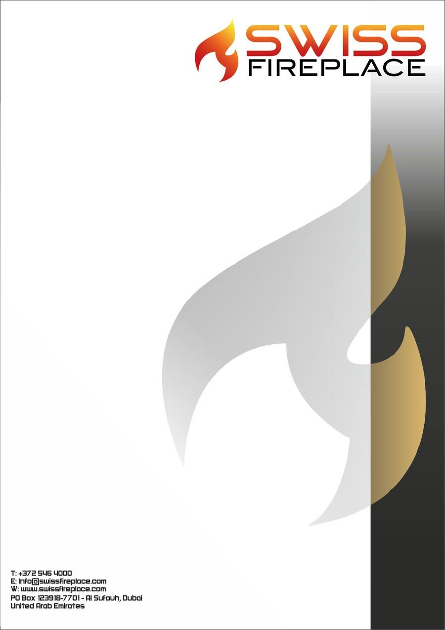 Penyertaan Peraduan #26 untuk Letterhead Design (Only a regular A4 Page) for my company