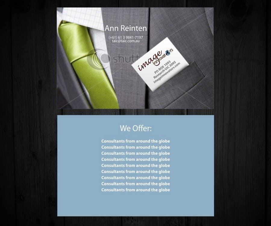 Bài tham dự cuộc thi #16 cho Business Card Design for Image Innovators