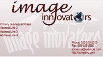 Business Card Design for Image Innovators için Graphic Design12 No.lu Yarışma Girdisi