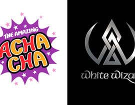 nº 184 pour Logo Design for (The Amazing Acha Cha) and (The White Wizard) par benpics