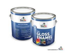 Nro 8 kilpailuun design two printable labels for paint tins -- 2 käyttäjältä SeanKilian