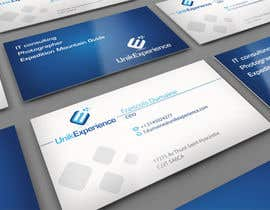 #27 untuk Design Business Cards for Unik Experience oleh midget