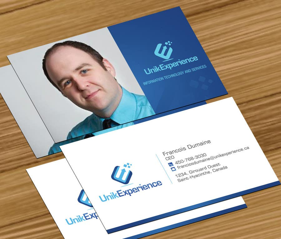#16 for Design Business Cards for Unik Experience by jobee