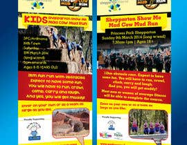linokvarghese tarafından Design a Flyer/Poster for Mad Cow Mud Run için no 8