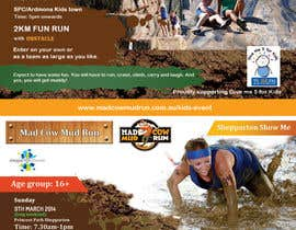 nº 23 pour Design a Flyer/Poster for Mad Cow Mud Run par mydZnecoz