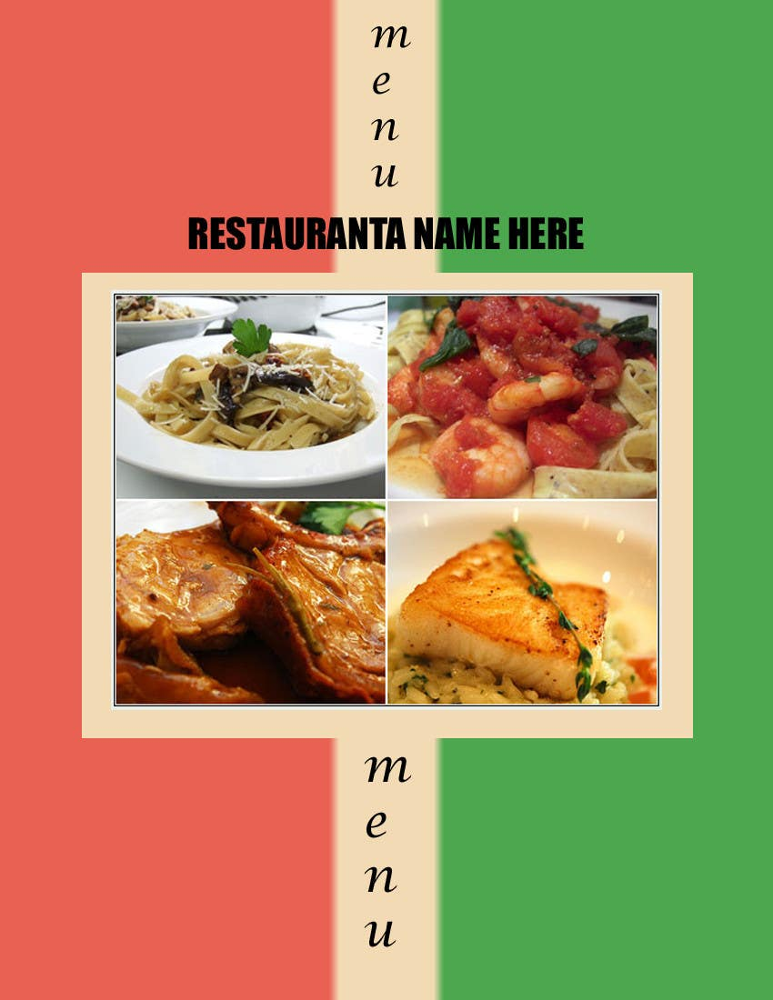 #3 for Menu for Italian Restaurant by tomyseazer