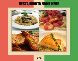#3 para Menu for Italian Restaurant por tomyseazer
