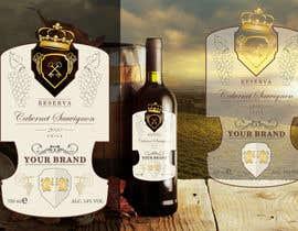 Nro 8 kilpailuun Wine labels for an international Wine Brand käyttäjältä Slavajan