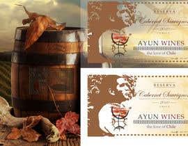 Nro 14 kilpailuun Wine labels for an international Wine Brand käyttäjältä Slavajan