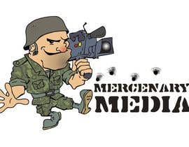 nº 109 pour Logo Cartoon Design for Mercenary Media par manikmoon
