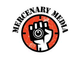 #141 pentru Logo Cartoon Design for Mercenary Media de către benpics