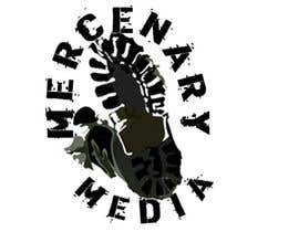 #68 para Logo Cartoon Design for Mercenary Media por DevCubed