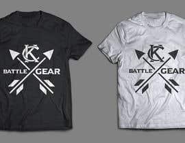 #9 for KC Battlegear brand shirt design! by jasminmaurice