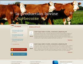 #25 cho Website Design for Beefs Organization bởi webomagus