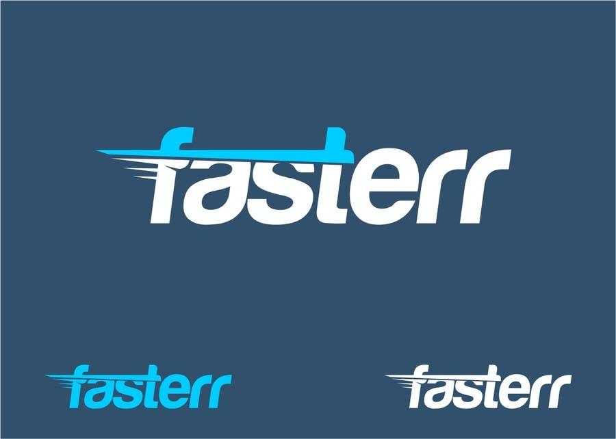 Penyertaan Peraduan #335 untuk Design a Logo for fasterr.com