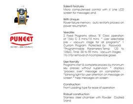 #8 untuk Design a Brochure for Engineering Products oleh sasfdo