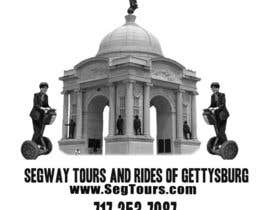 #95 para T-shirt Design for Segway Tours of Gettysburg por Tinnuu