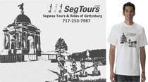 T-shirt Design for Segway Tours of Gettysburg için Graphic Design45 No.lu Yarışma Girdisi