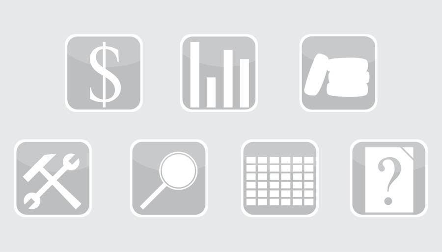 Penyertaan Peraduan #5 untuk Icon Design for vehicle management system