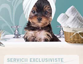 #32 for Pet Grooming Salon New Flyer Design by cristinacroitoru
