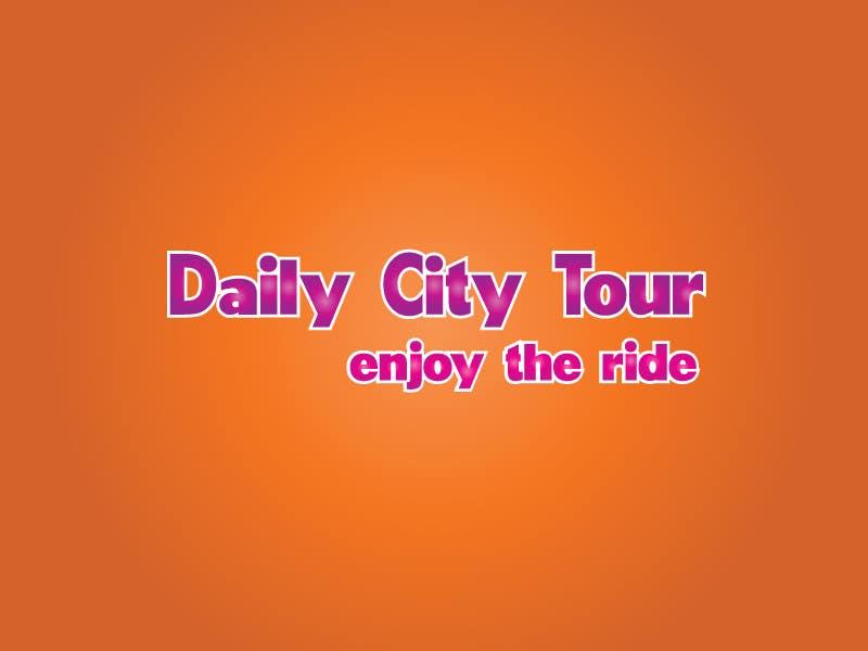 Inscrição nº 166 do Concurso para Slogan Project - City tour.