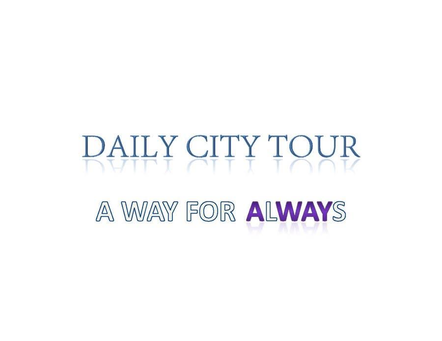 Inscrição nº 202 do Concurso para Slogan Project - City tour.