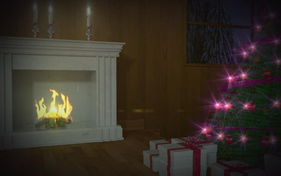 Proposition n°3 du concours Create Animated 3D Christmas Scene - Example Provided