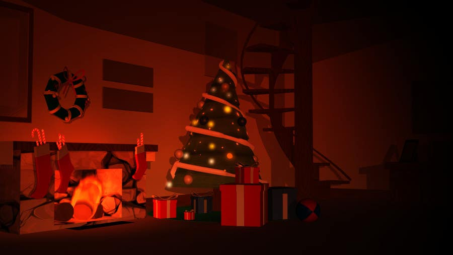 Proposition n°11 du concours Create Animated 3D Christmas Scene - Example Provided