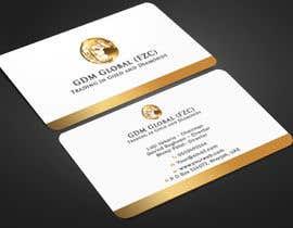 Nro 41 kilpailuun Design of Business Cards and Letterhead for GDM Global (FZC) Ltd käyttäjältä Warna86