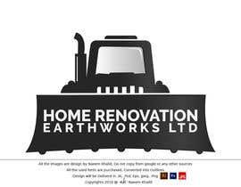 Nro 42 kilpailuun design a logo for a home improvement and earthworks  company, käyttäjältä naeemkhalidarain