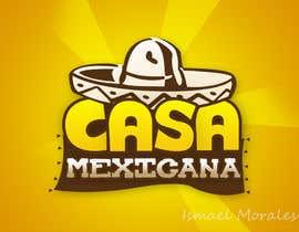 IsmaelMorales tarafından logo para pequeño restaurante mexicano için no 10