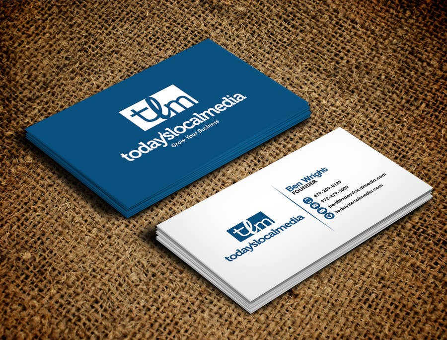 entry 25 by elkarmani for design some business cards for digital
