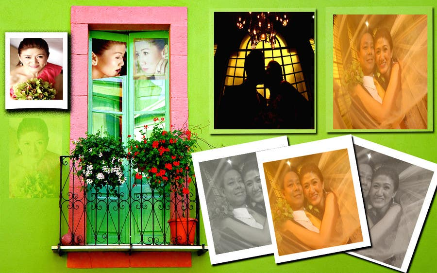#2 for Improve a Wedding Front and Back Cover by badalku