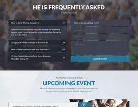 Nro 3 kilpailuun Website design for public speaker käyttäjältä webmastersud