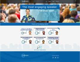 Nro 5 kilpailuun Website design for public speaker käyttäjältä nole1