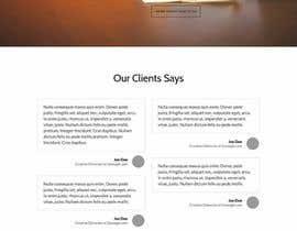 Nro 18 kilpailuun Design modern style Website Mockup käyttäjältä alexxanderron