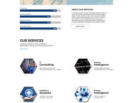 Nro 5 kilpailuun Design modern style Website Mockup käyttäjältä giantdesigner