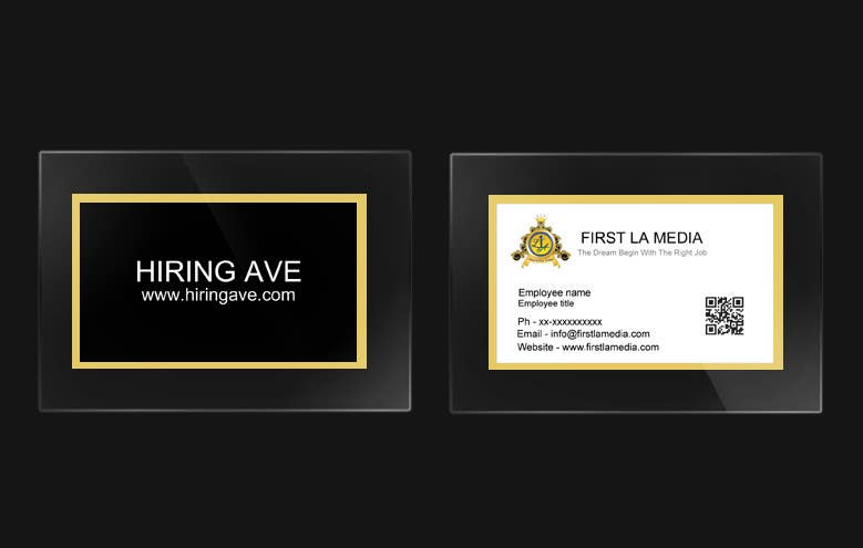 #25 for Design some Business Cards and get hire for more tasks ! by Ankur0312