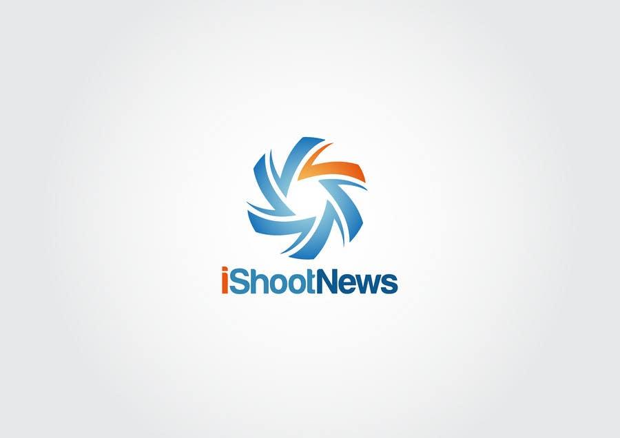 Contest Entry #                                        308                                      for                                         Logo Design for iShootNews