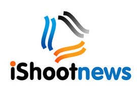 #444 para Logo Design for iShootNews por vlogo