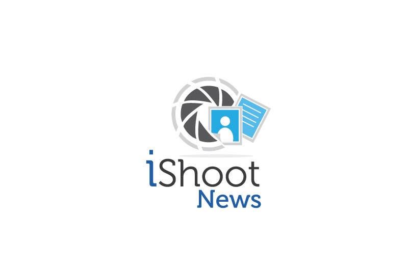 Contest Entry #                                        338                                      for                                         Logo Design for iShootNews
