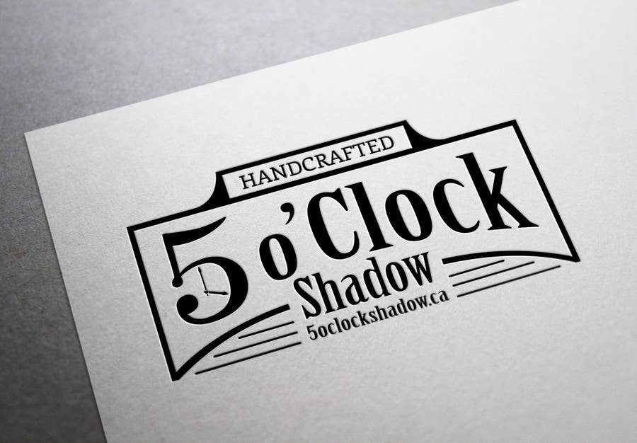 #24 for Design a Logo and banner for 5 Oclock Shadow by BiancaN