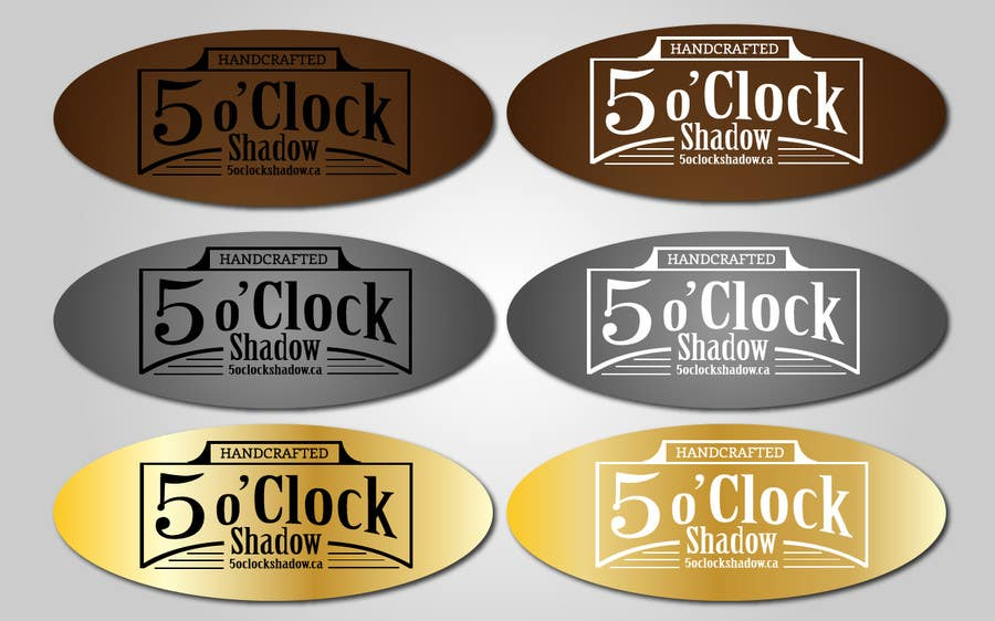 #30 for Design a Logo and banner for 5 Oclock Shadow by BiancaN