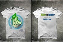 Contest Entry #13 for Design a T-Shirt for THE INTERN BUSINESS REALITY SHOW