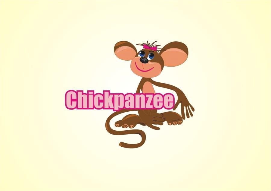 Penyertaan Peraduan #39 untuk Cute Monkey Design