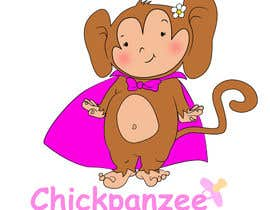 #86 para Cute Monkey Design por passion4creation