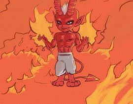 Nro 6 kilpailuun Illustrate a Little Devil käyttäjältä endario