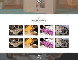 Nro 7 kilpailuun Awesome landing page - design&development käyttäjältä webidea12