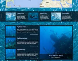 #32 for Design a Wordpress Mockup for Dive Adviser by BrieZ