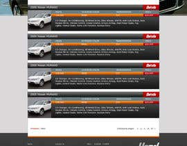 #23 for Design a Website Mockup for Used Car Dealerships by CreativeDezigner